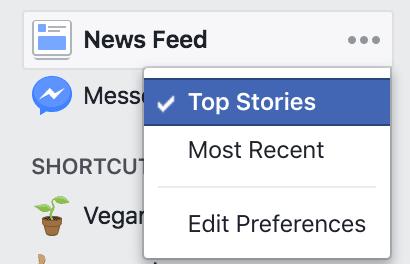 האלגוריתם של פייסבוק לפוסטים